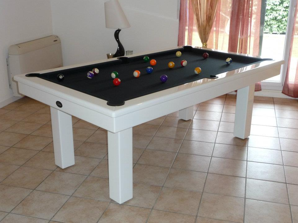 billard table blanc occasion. Black Bedroom Furniture Sets. Home Design Ideas
